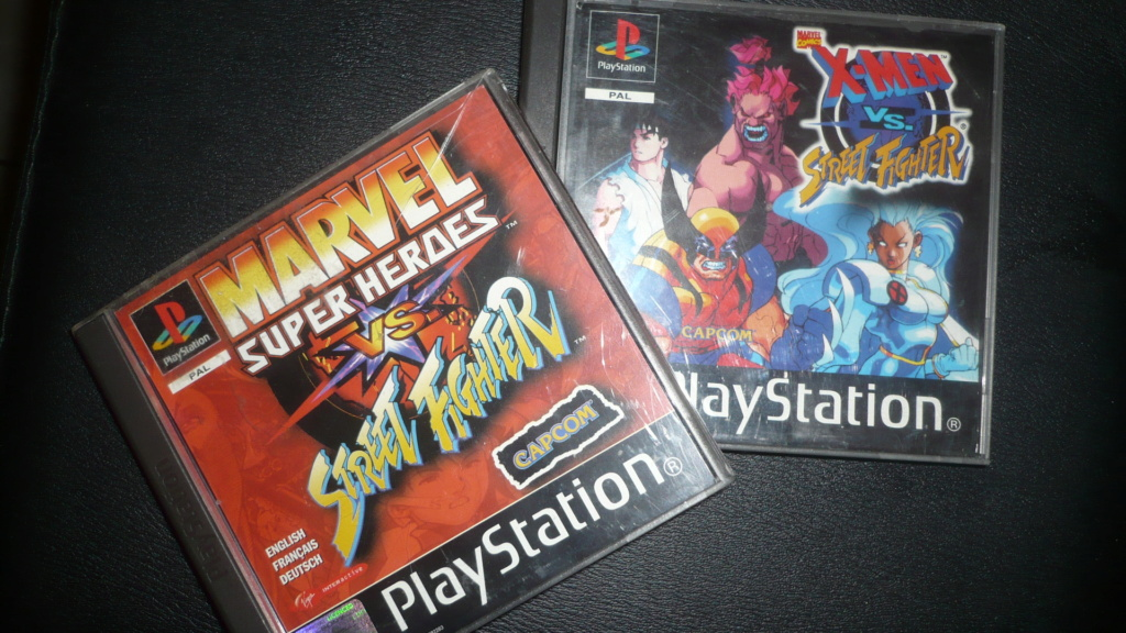 [EST] X-Men VS Street fighter PS1 P1040513