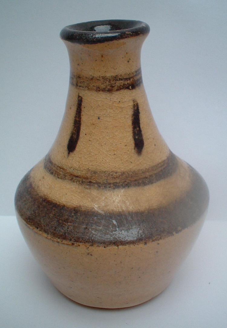 Vase signed Stonyhurst and JR mark Marksp14