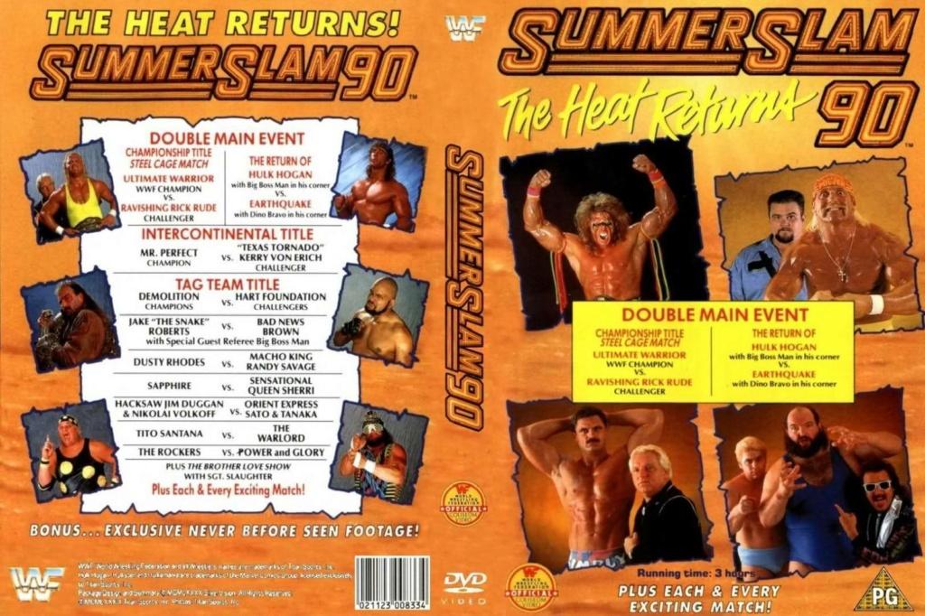 Wrestling: WWF & WCW - 1990 - 1995: SummerSlam Moments! 3_summ10
