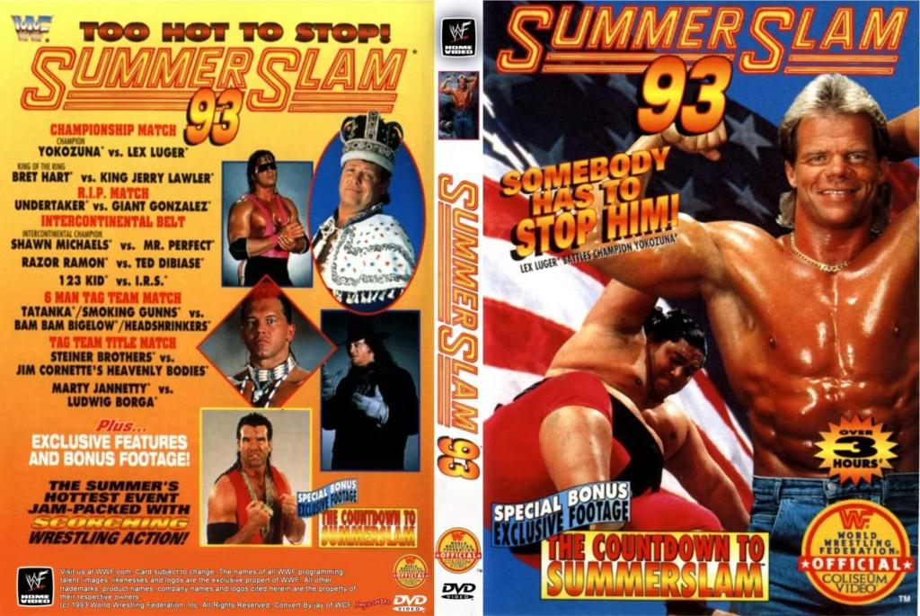 Wrestling: WWF & WCW - 1990 - 1995: SummerSlam Moments! 4_summ10