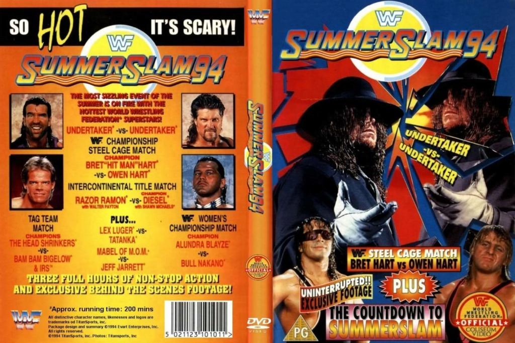Wrestling: WWF & WCW - 1990 - 1995: SummerSlam Moments! 4_summ11