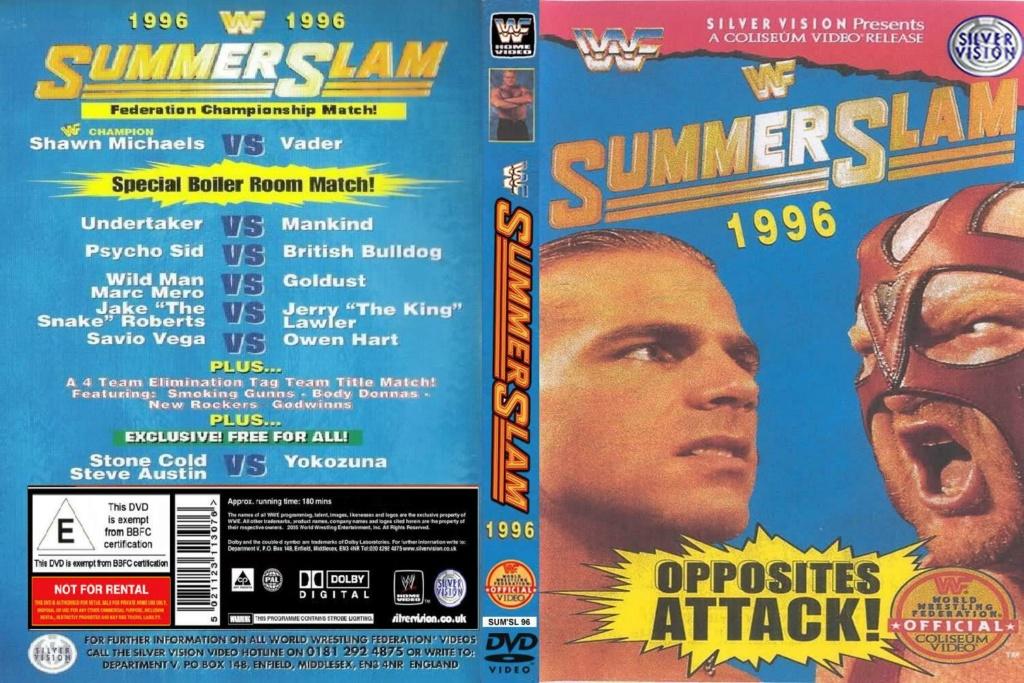 Wrestling: WWF & WCW - 1990 - 1995: SummerSlam Moments! 8_summ10