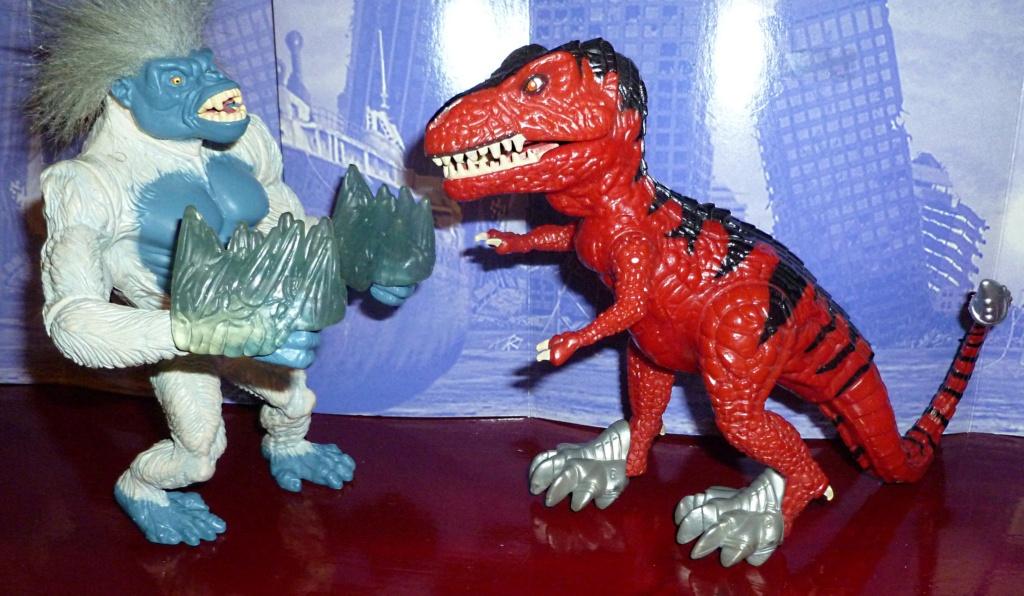 My Video Game Figures & Strategy Guides: Super Godzilla & Predator Games! Blizza12