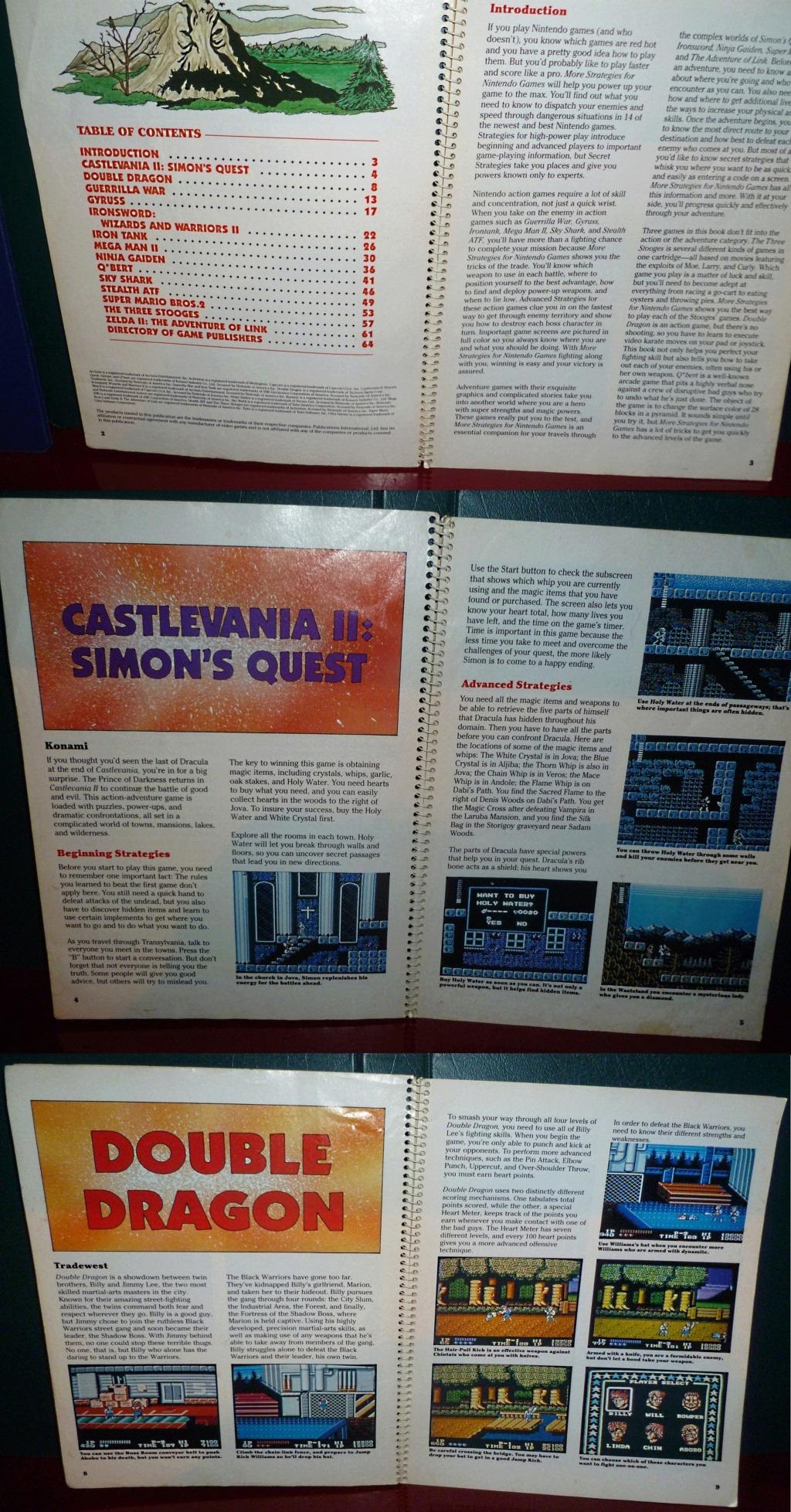 My Video Game Figures & Strategy Guides: Super Godzilla & Predator Games! Book_110