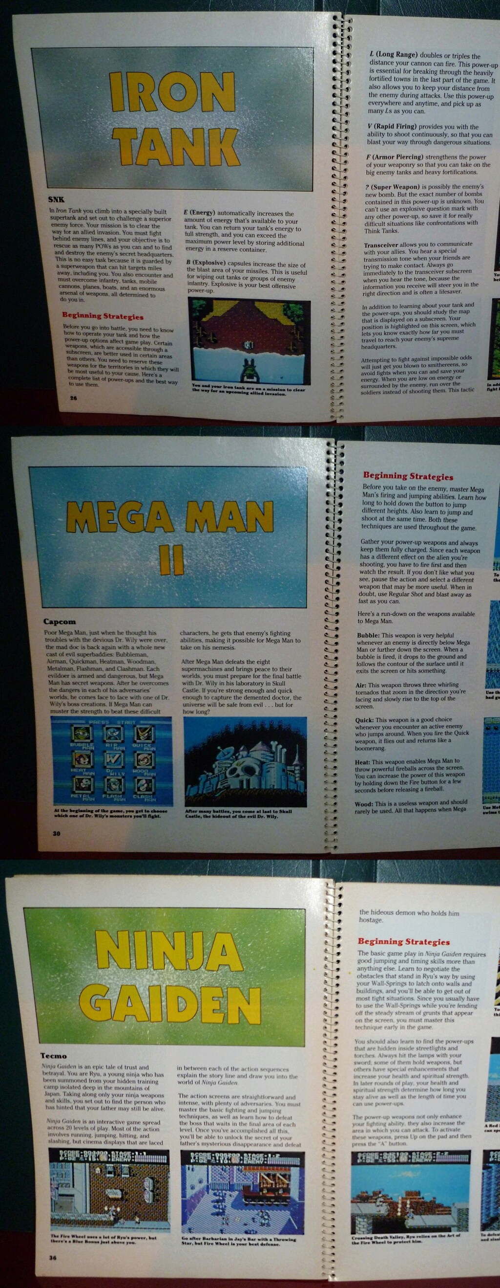 My Video Game Figures & Strategy Guides: Super Godzilla & Predator Games! Book_310