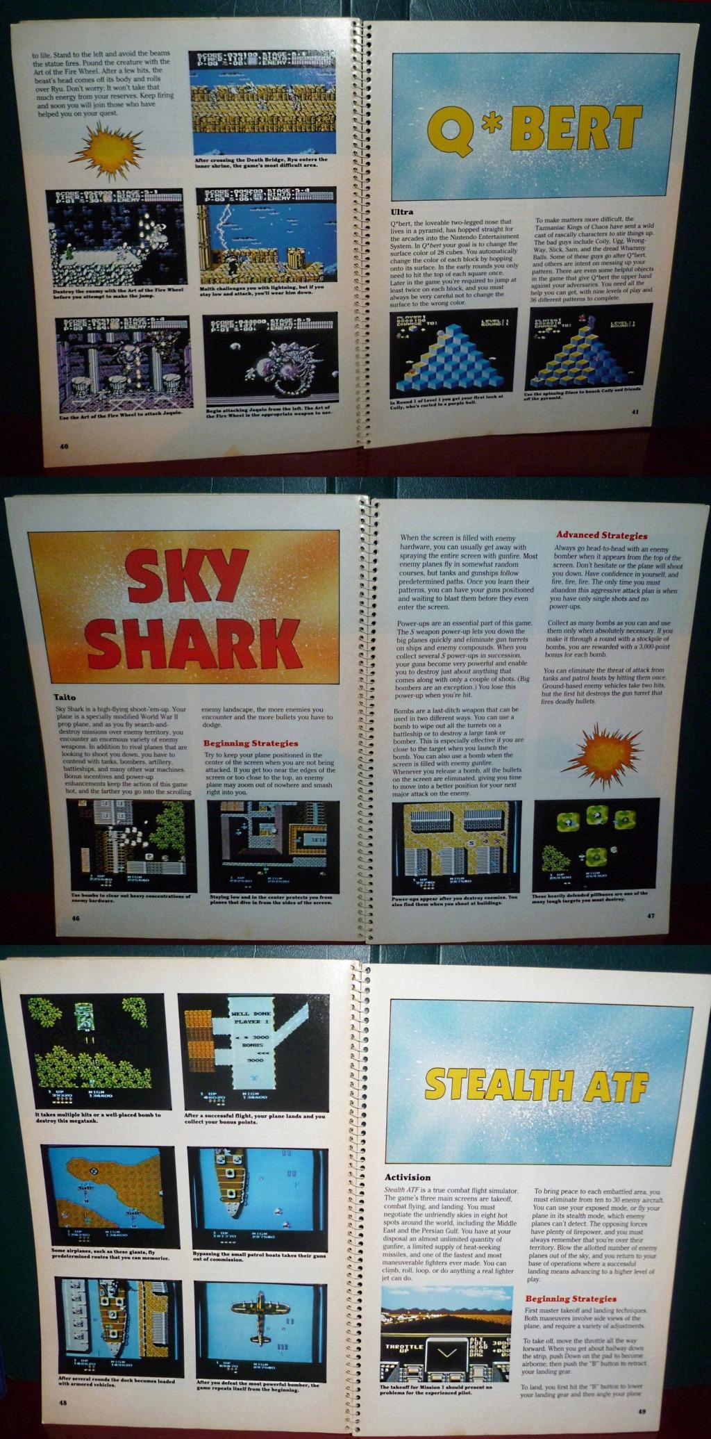 My Video Game Figures & Strategy Guides: Super Godzilla & Predator Games! Book_410