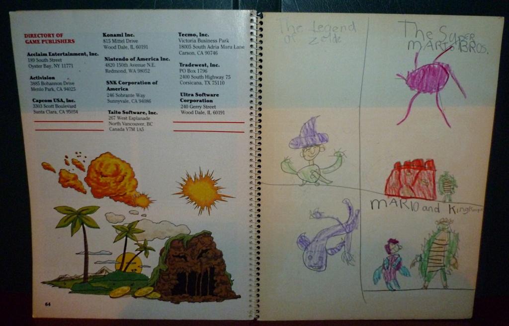 My Video Game Figures & Strategy Guides: Super Godzilla & Predator Games! Book_610