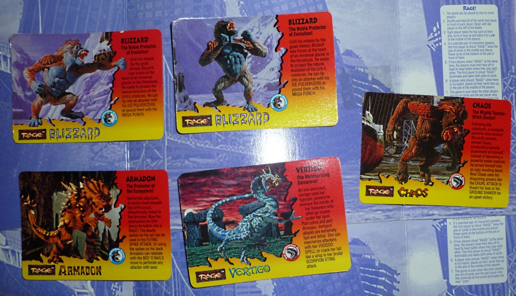 My Video Game Figures & Strategy Guides: Super Godzilla & Predator Games! Cards_16
