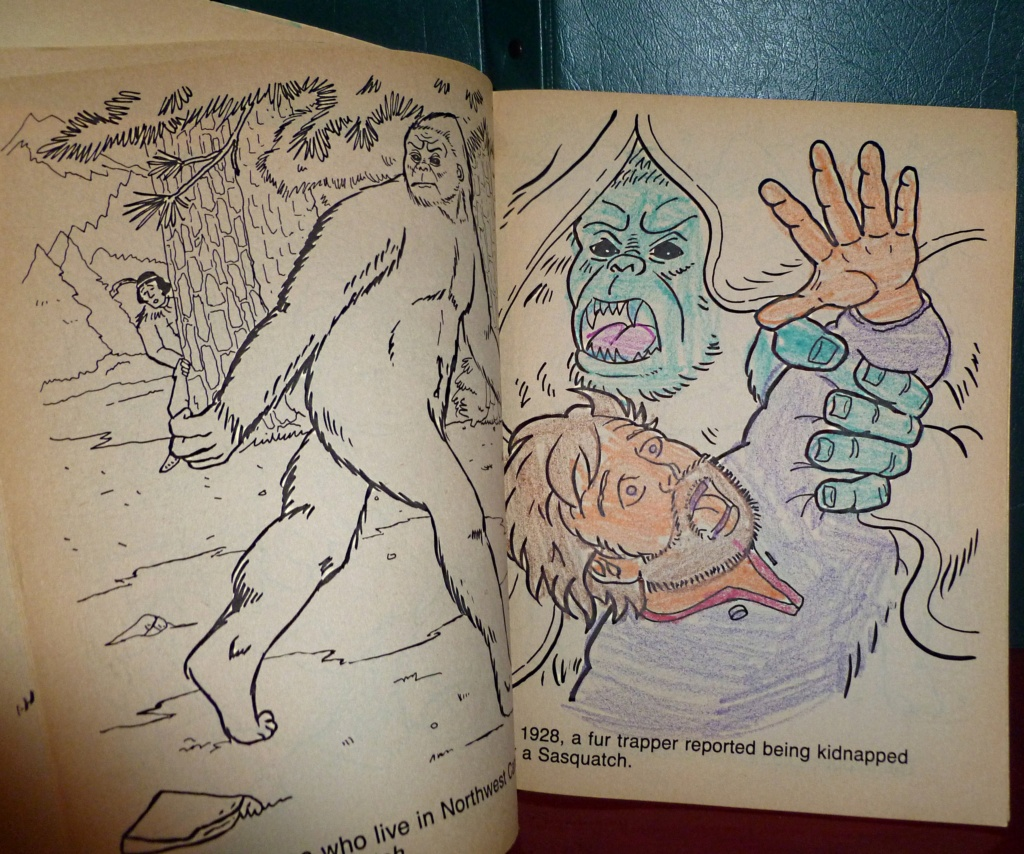 Cryptozoology & Ufology Discussion: My Sasquatch sighting and Me & T-REX Sue! Colori12