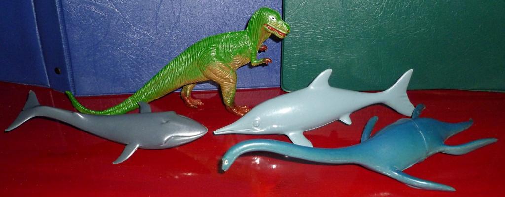 My Dinosaur figure collection: Battat 10 Dinosaur Set! - Page 2 Compar11