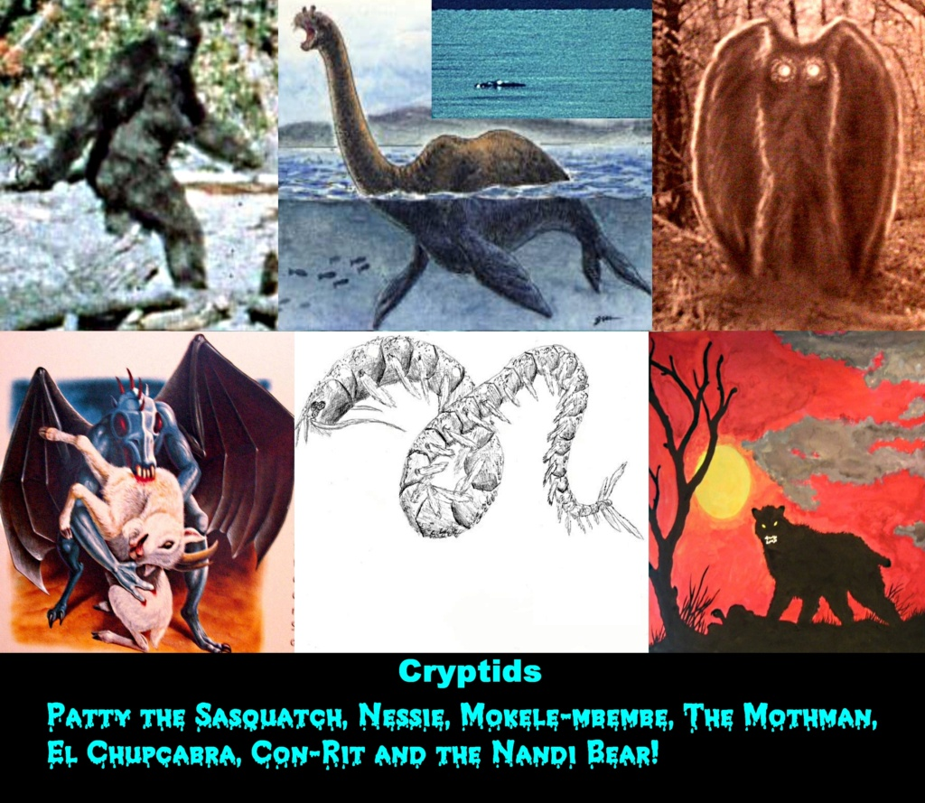 Cryptozoology & Ufology Discussion: My Sasquatch sighting and Me & T-REX Sue! Crypti10