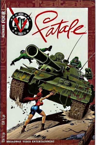 Broadway Comics' Fatale: 25th Anniversary! Desirz15