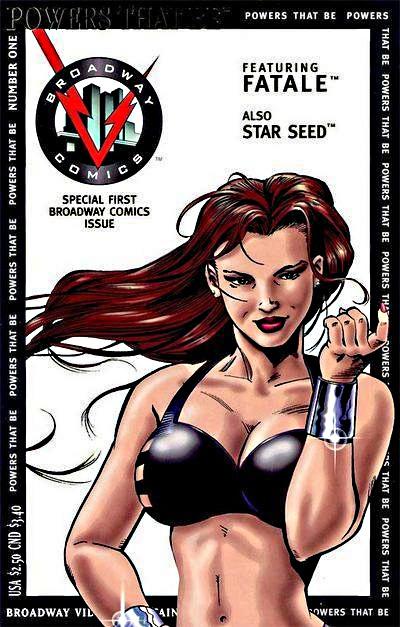 Broadway Comics' Fatale: 25th Anniversary! Desirz17