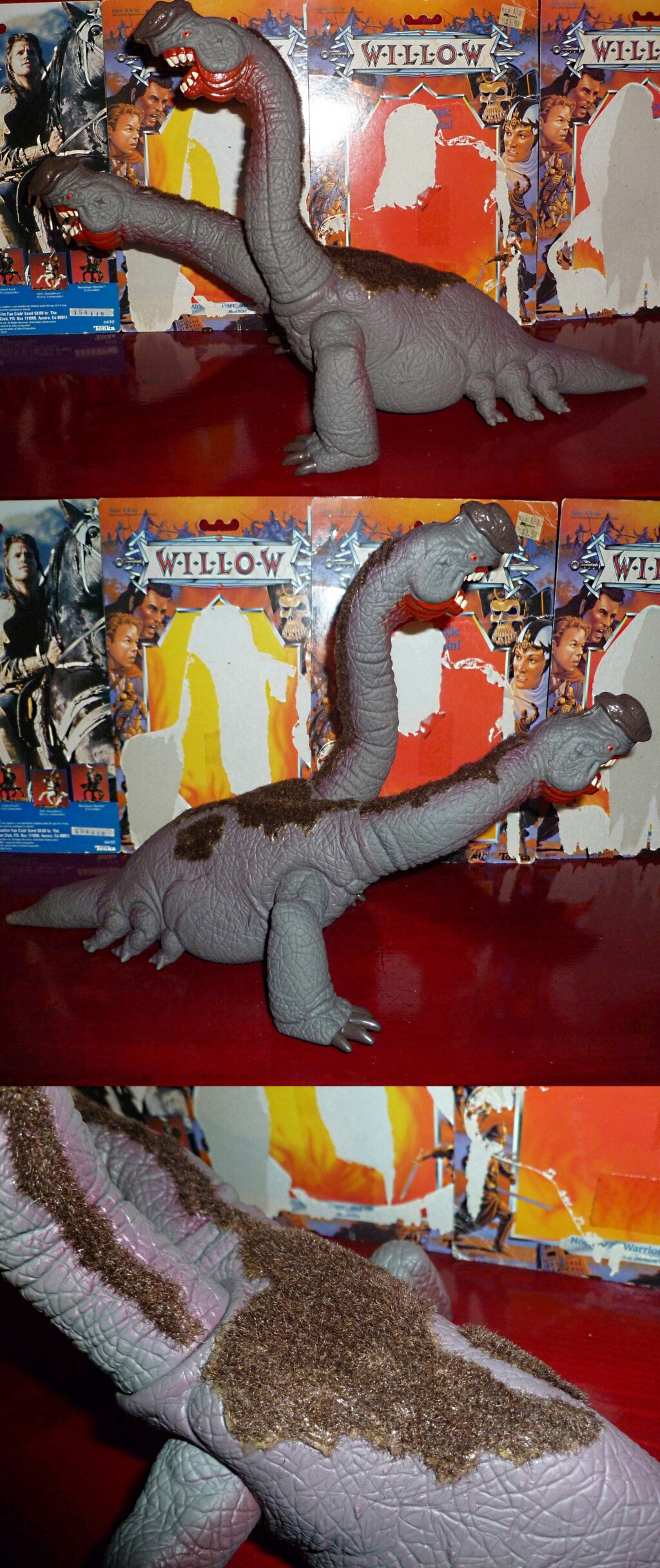 My VINTAGE Action Figure Collection: Imperial Classic Monsters! Eborsi11