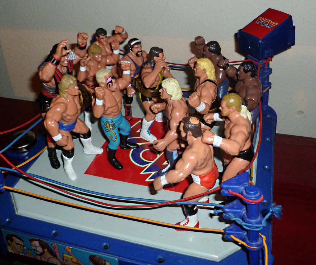 My Vintage Wrestling Collection: WCW OSTM Cage Update! Galoob12