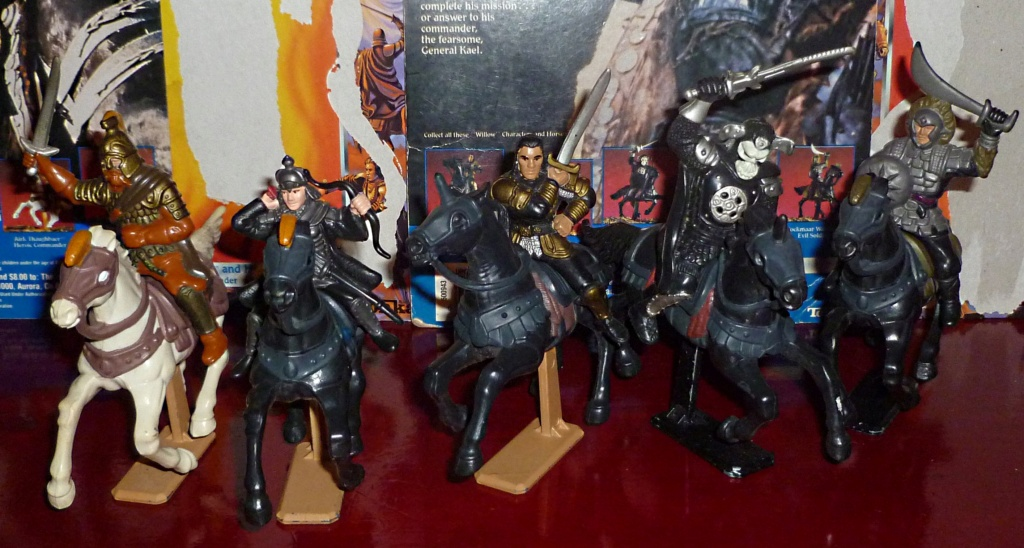 My VINTAGE Action Figure Collection: Imperial Classic Monsters! Horse_10