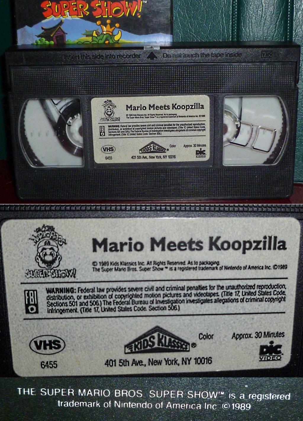 My Video Game Figures & Strategy Guides: Super Godzilla & Predator Games! Mario_10