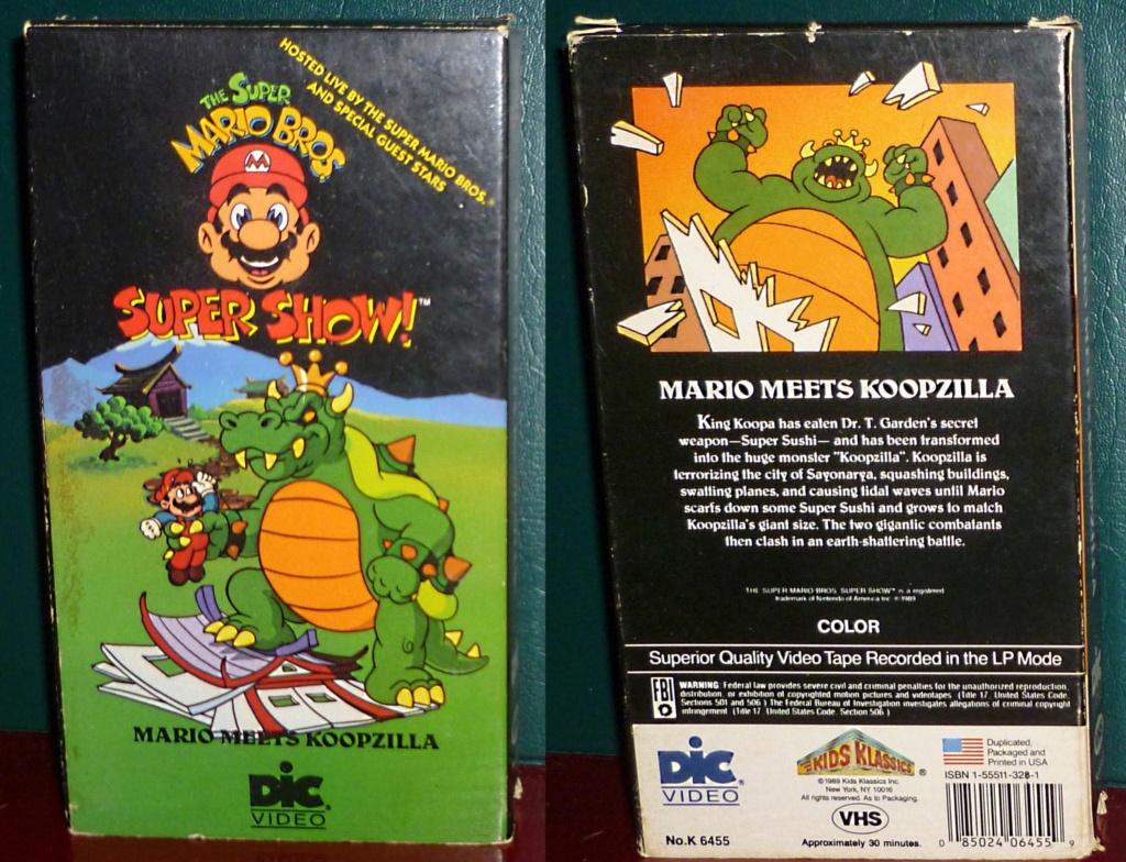 My Video Game Figures & Strategy Guides: Super Godzilla & Predator Games! Mario_11