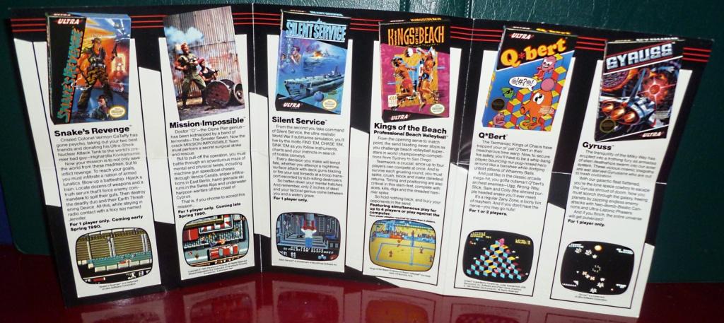 My Video Game Figures & Strategy Guides: Super Godzilla & Predator Games! Nes_ad10