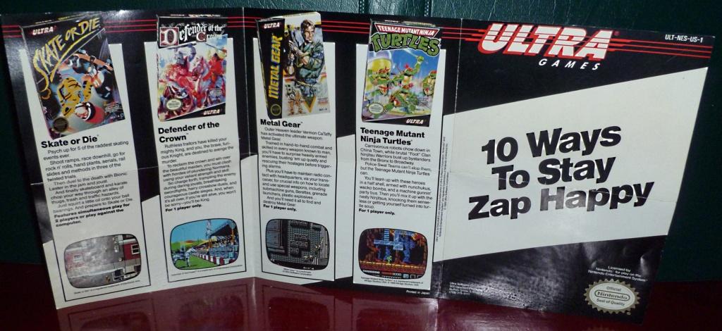 My Video Game Figures & Strategy Guides: Super Godzilla & Predator Games! Nes_ad11