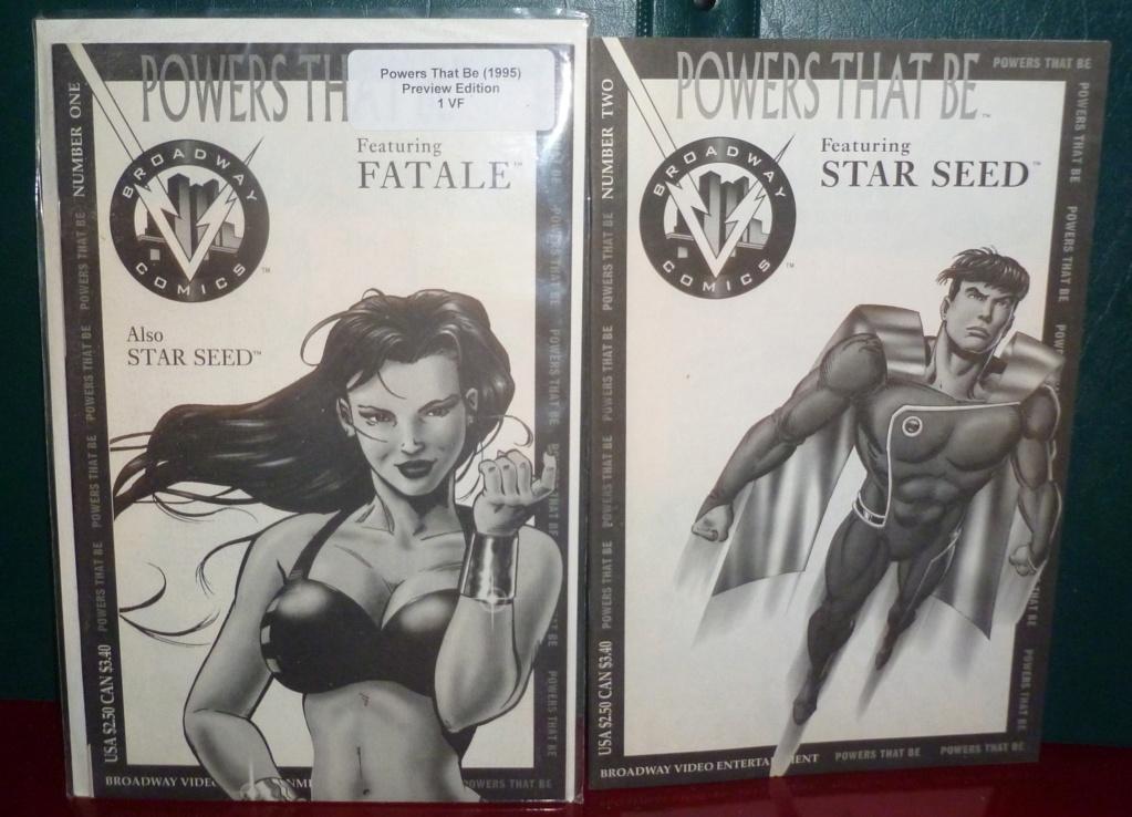 Broadway Comics' Fatale: 25th Anniversary! Powers10