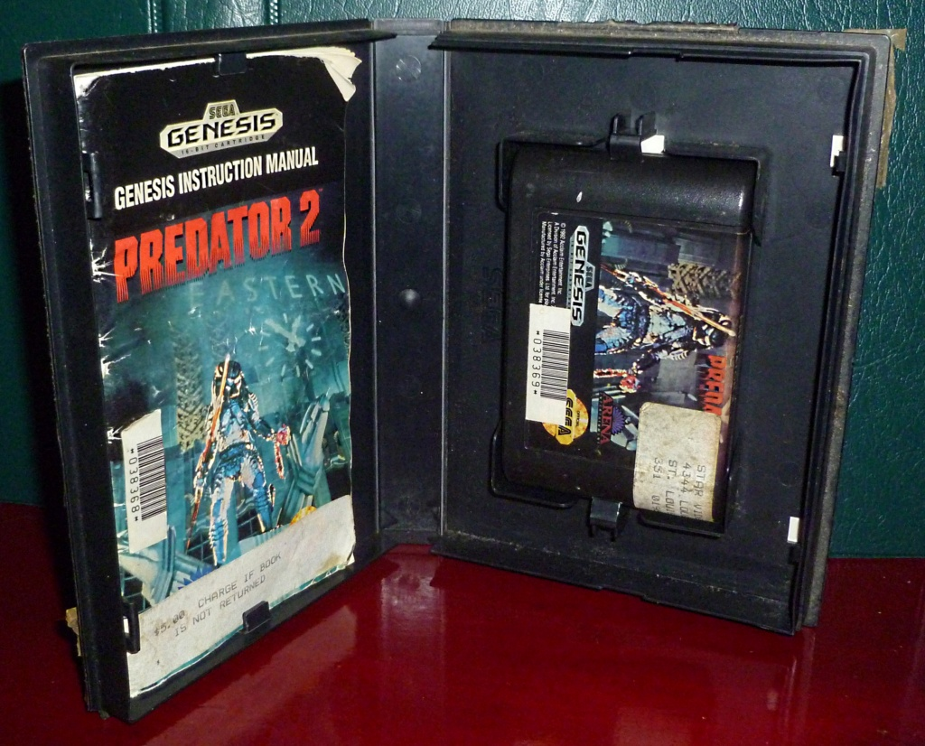 My Video Game Figures & Strategy Guides: Super Godzilla & Predator Games! Predat11