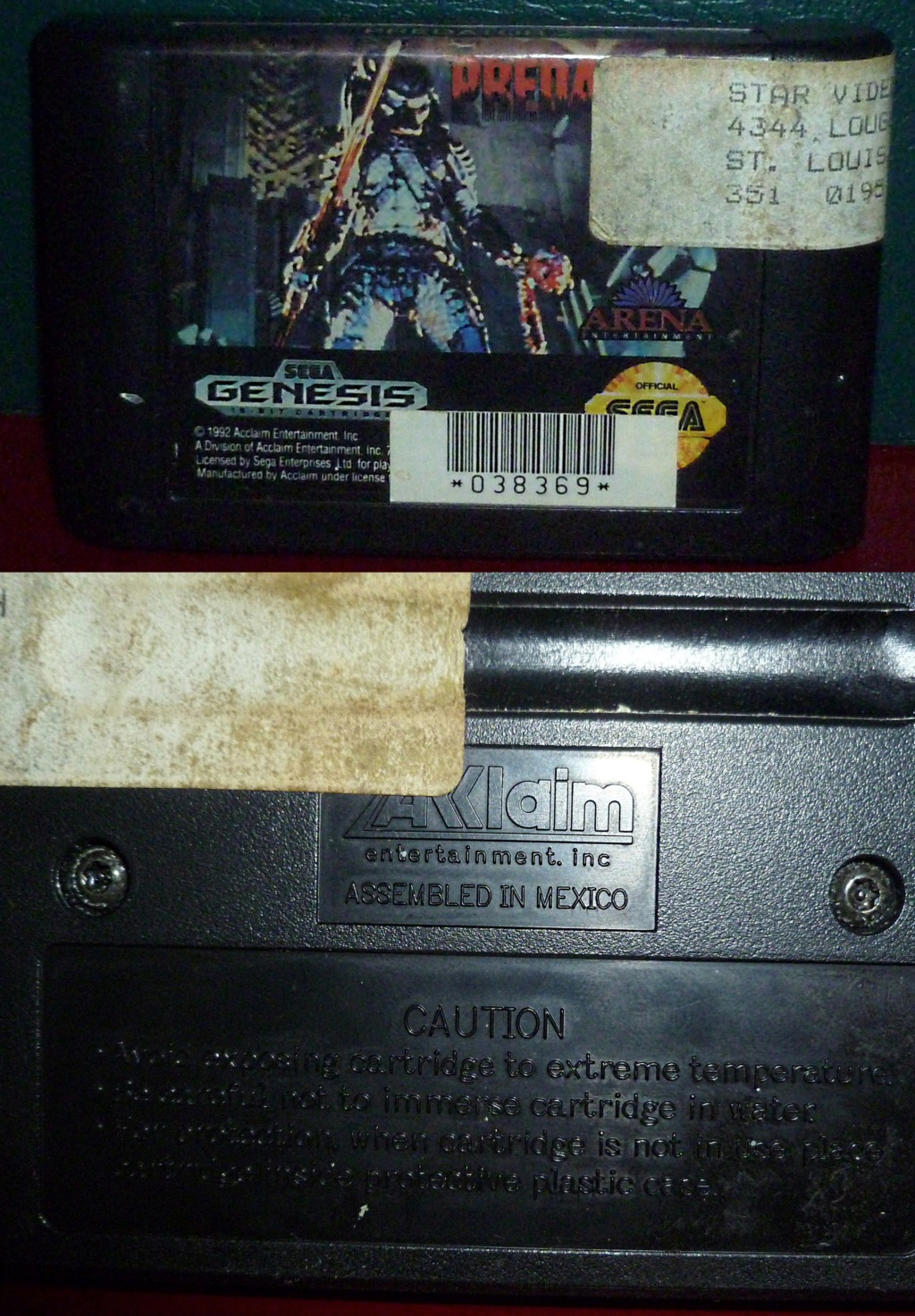My Video Game Figures & Strategy Guides: Super Godzilla & Predator Games! Predat12