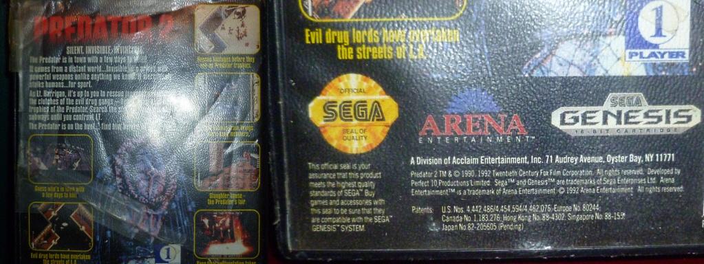 My Video Game Figures & Strategy Guides: Super Godzilla & Predator Games! Predat14