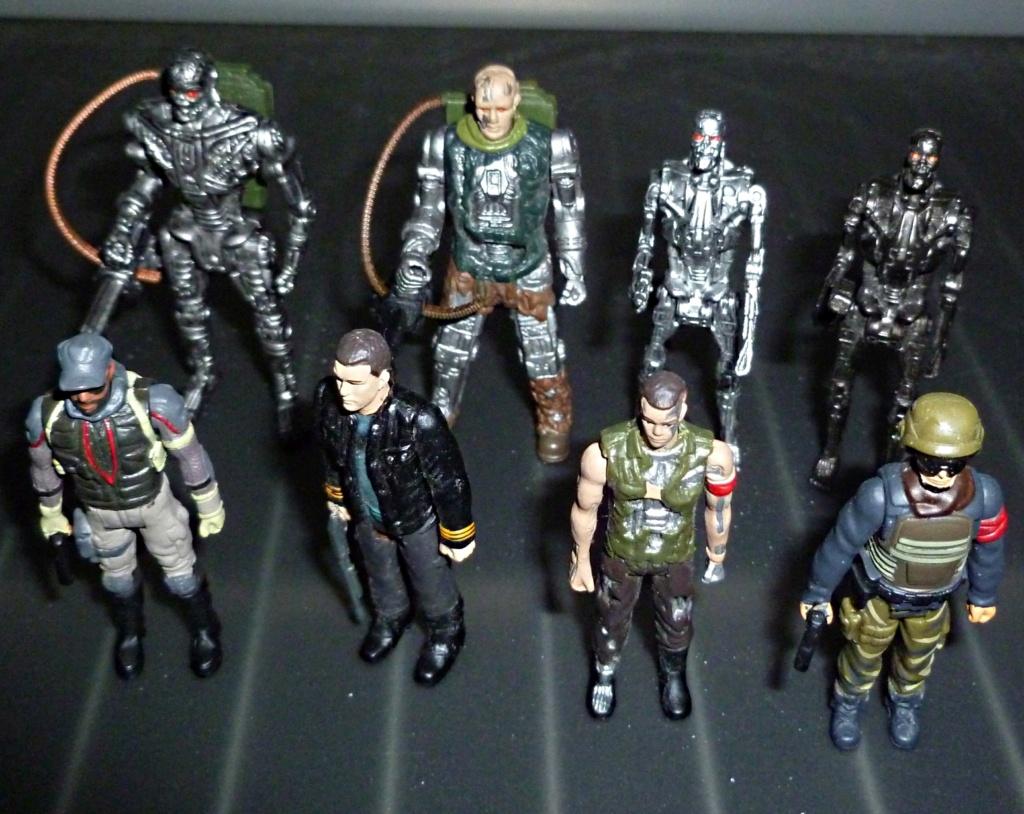 My Terminator Salvation MINI Figures Set - Update with Card! Set_110