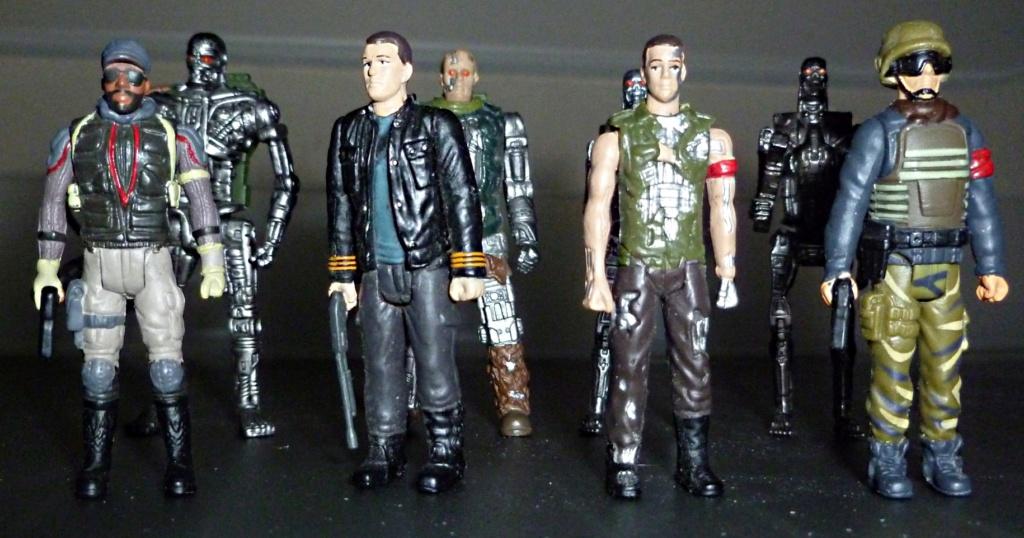 My Terminator Salvation MINI Figures Set - Update with Card! Set_210
