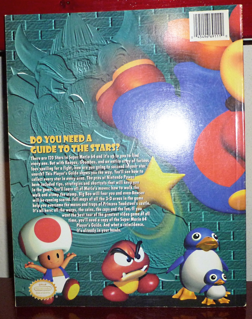 My Video Game Figures & Strategy Guides: PRIMAGEN! Sm64_210
