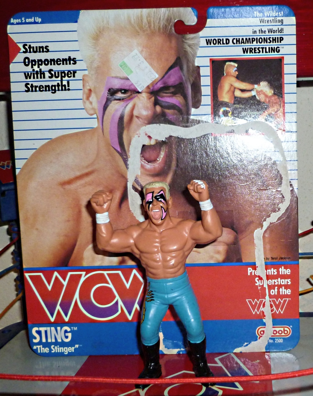 My Vintage Wrestling Collection: WCW OSTM Cage Update! Sting_11