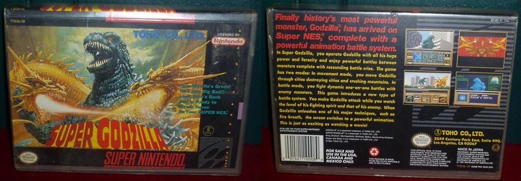 My Video Game Figures & Strategy Guides: Super Godzilla & Predator Games! Super_17