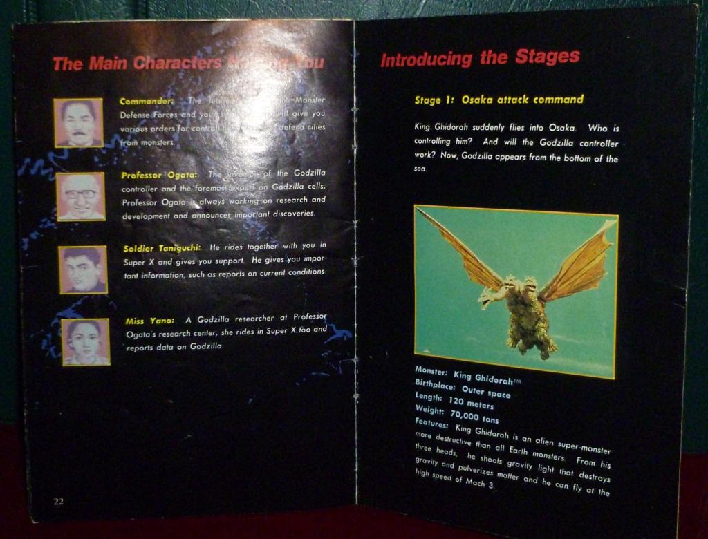My Video Game Figures & Strategy Guides: Super Godzilla & Predator Games! Super_18