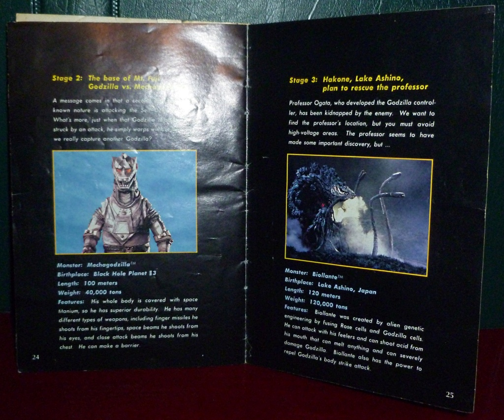 My Video Game Figures & Strategy Guides: Super Godzilla & Predator Games! Super_19