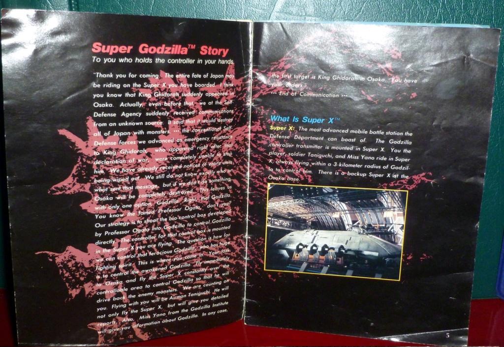 My Video Game Figures & Strategy Guides: Super Godzilla & Predator Games! Super_20