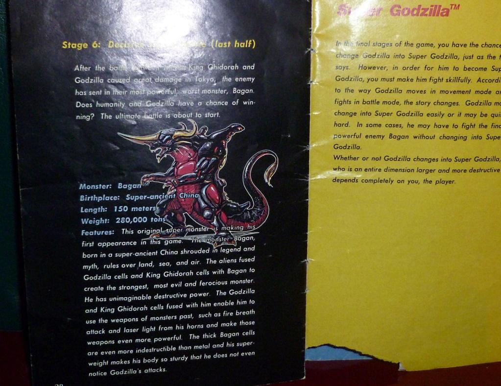 My Video Game Figures & Strategy Guides: Super Godzilla & Predator Games! Super_21