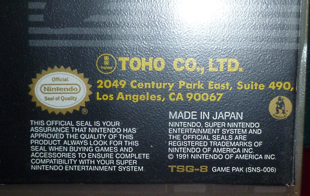 My Video Game Figures & Strategy Guides: Super Godzilla & Predator Games! Super_24