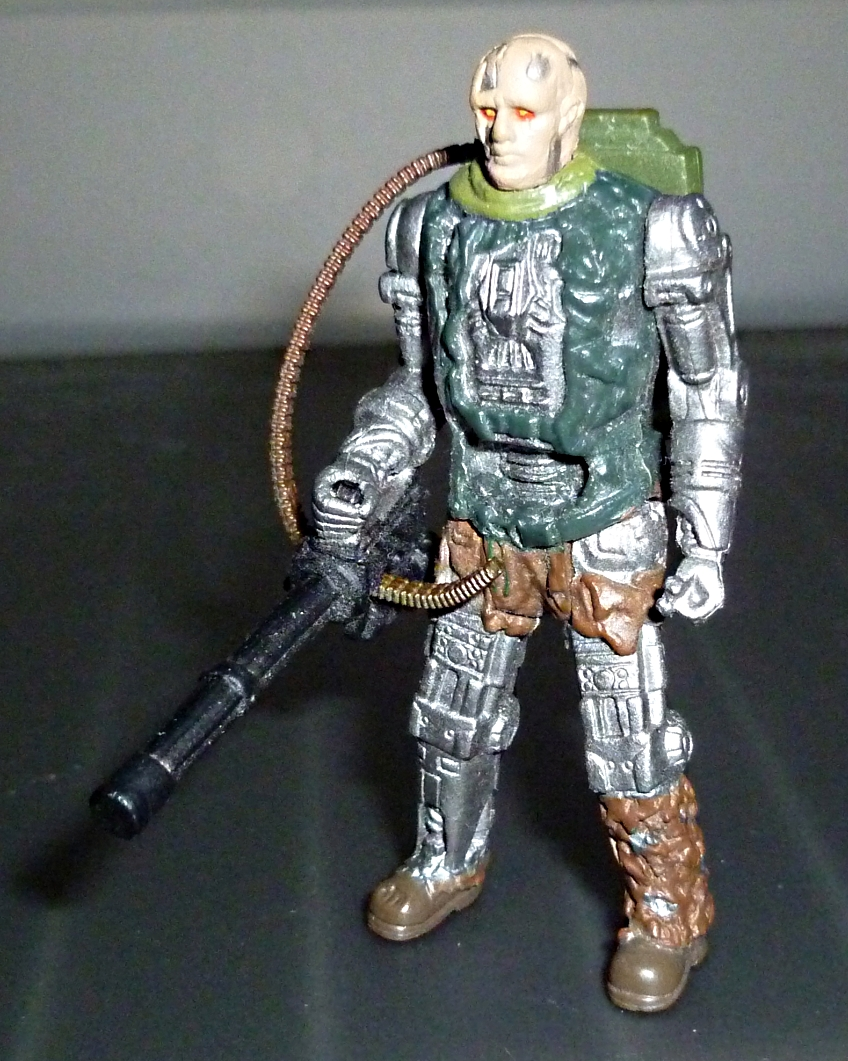 My Terminator Salvation MINI Figures Set - Update with Card! T-600_10