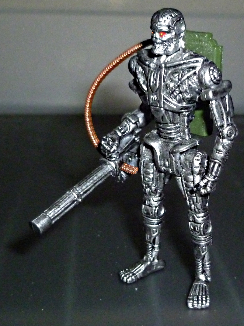 My Terminator Salvation MINI Figures Set - Update with Card! T-600_11