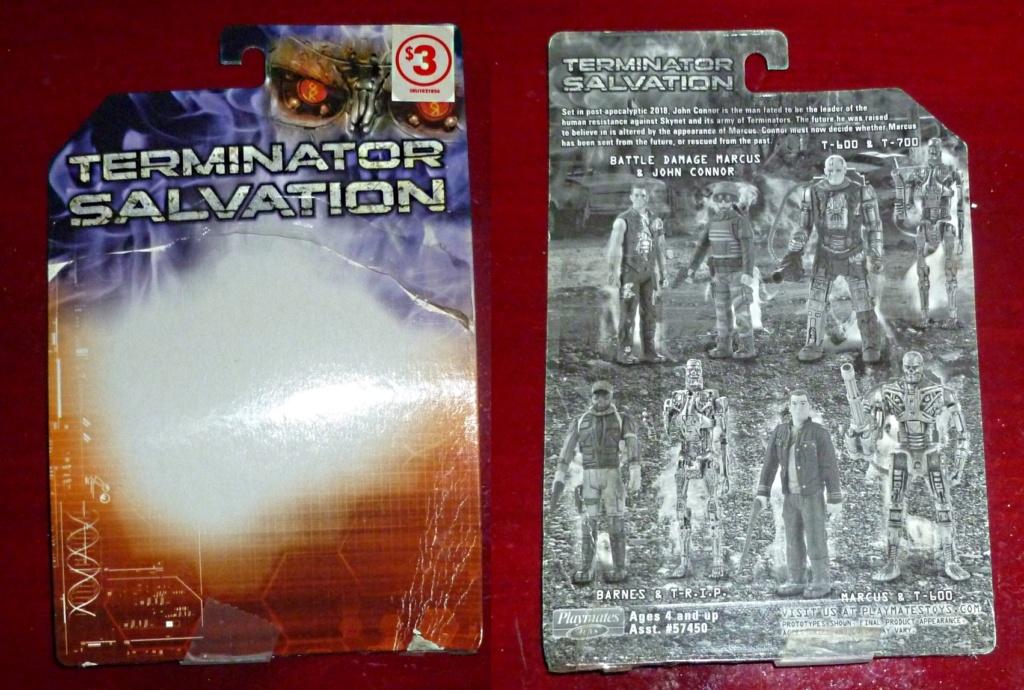 My Terminator Salvation MINI Figures Set - Update with Card! T4_car10