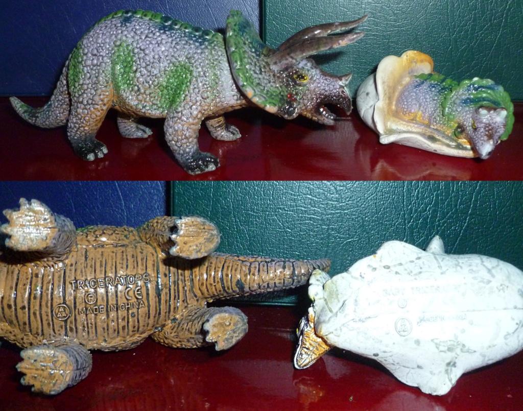 My Dinosaur figure collection: Battat 10 Dinosaur Set! - Page 3 Tricer26