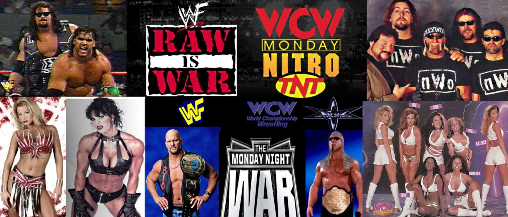 Wrestling: WWF vs. WCW - Monday Night War 96 - 2001! Wwf_vs10