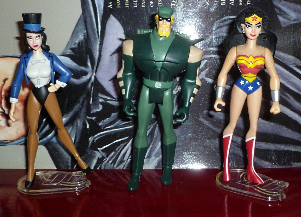 My Miscellaneous Modern Collection: My JLA: U Collection: Batman Update! Zantan10