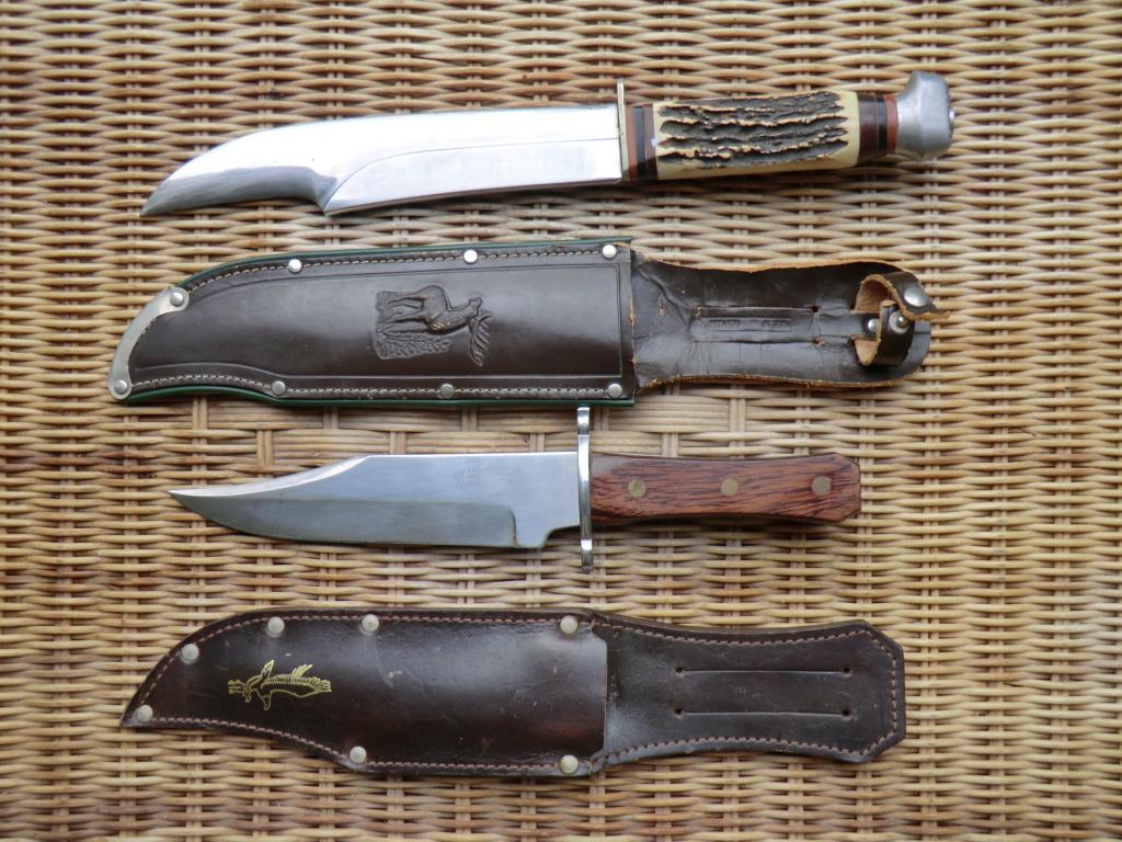 2 couteaux de chasse type Bowie Cimg4316