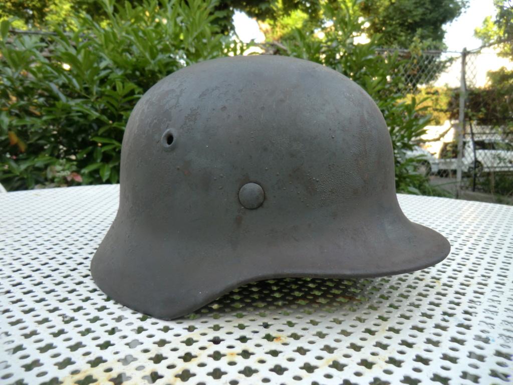 Médaille militaire 2nd Empire et casque allemand Cimg5614