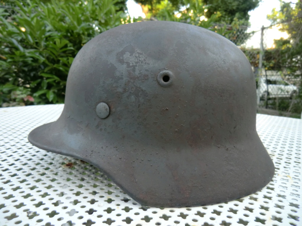 Médaille militaire 2nd Empire et casque allemand Cimg5617