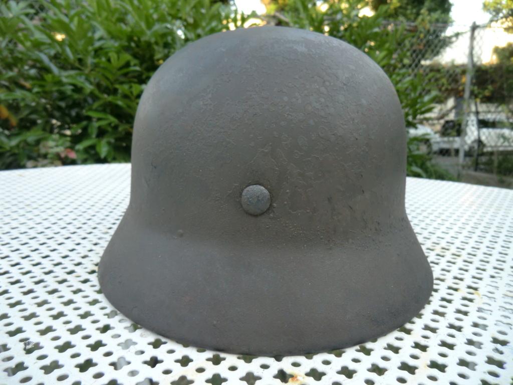 Médaille militaire 2nd Empire et casque allemand Cimg5618