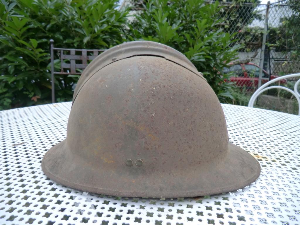 Casque Adrian 1926 sans insigne ??? Cimg5757