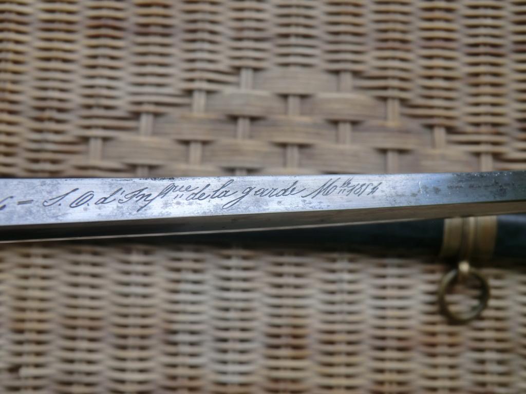 Sabre 1821-1854 Garde Impériale Cimg5928